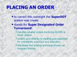 placing an order3