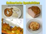 kulinarische spezialit ten