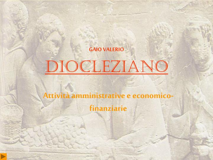 diocleziano n.