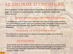 le riforme economiche 1 2