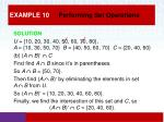 example 10 performing set operations2