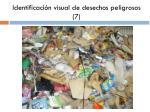 identificaci n visual de desechos peligrosos 7