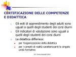 certificazione delle competenze e didattica