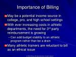 importance of billing1