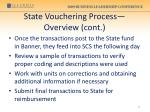state vouchering process overview cont4