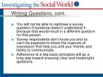 writing questions cont1