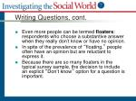 writing questions cont6
