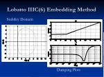 lobatto iiic 6 embedding method1