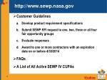 http www sewp nasa gov