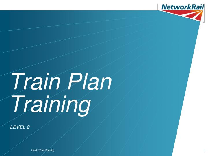 train plan training n.