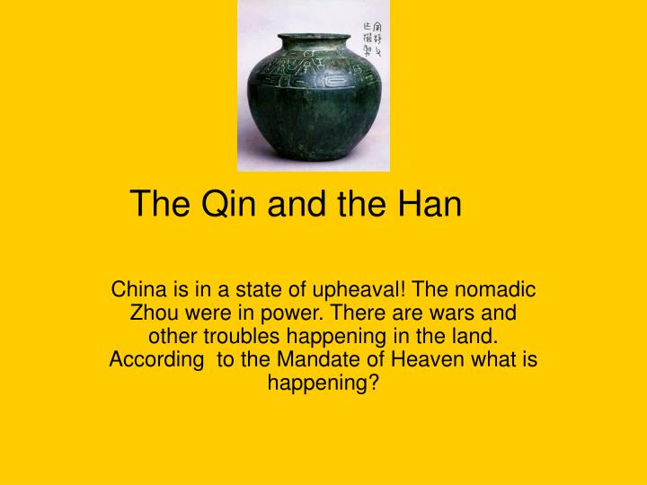 the qin and the han n.