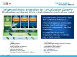 integrated threat protection for virtualization security