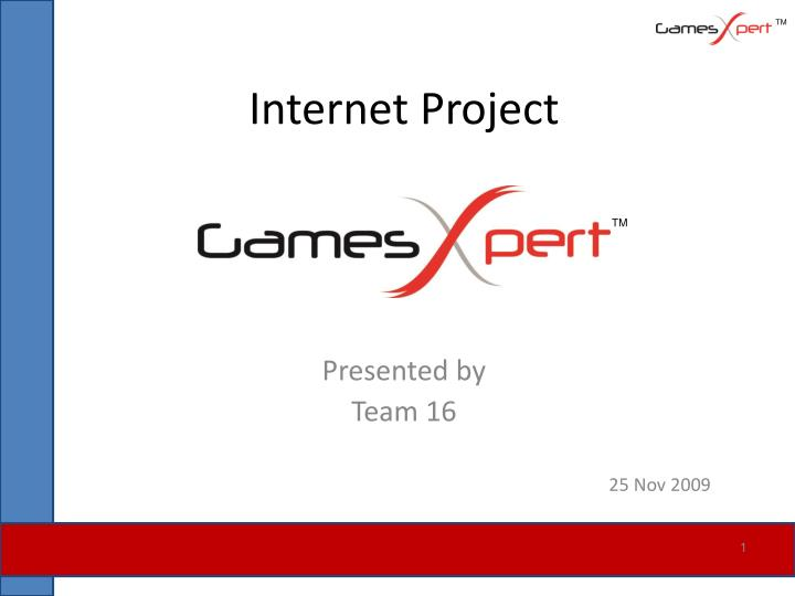 internet project n.