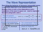 the wave representation