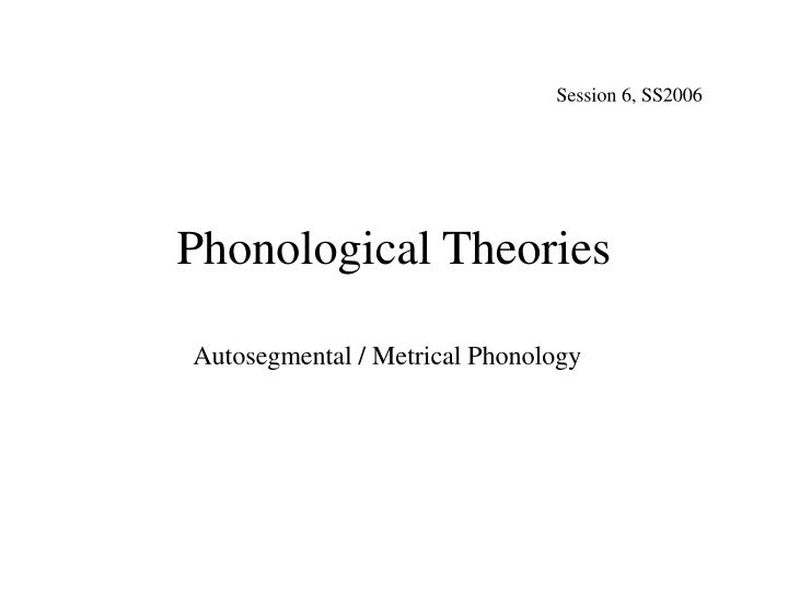 phonological theories n.