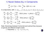 1 navier stokes eq in components