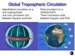 global tropospheric circulation