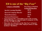 ed is one of the big four