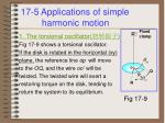17 5 applications of simple harmonic motion