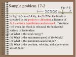 sample problem 17 2