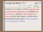 sample problem 17 3