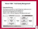 warum tqm total quality management