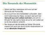 die sinnstufe der humanit t1