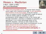 moses v macferlan 2 burr 1005 1760 per lord mansfield