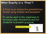 what exactly is a prezi