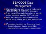 seacoos data management