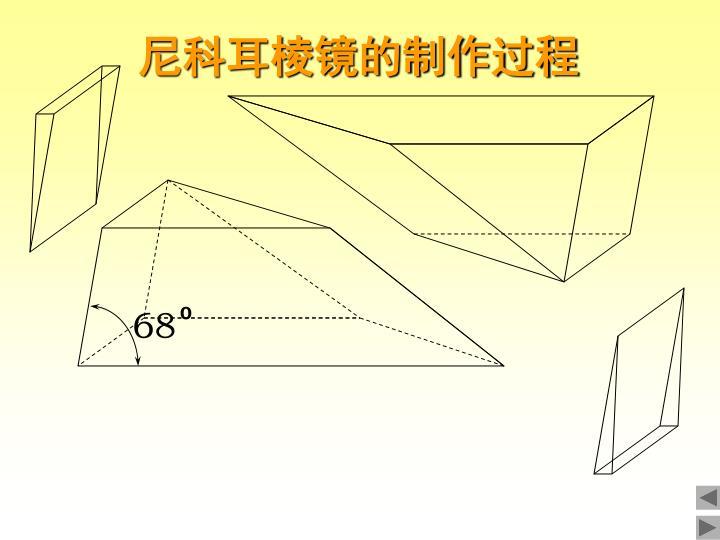 尼科耳棱镜的制作过程