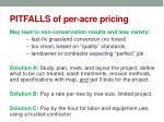pitfalls of per acre pricing