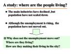 a study where are the people living