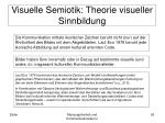 visuelle semiotik theorie visueller sinnbildung