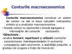 conturil e macroeconomice