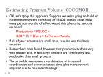 estimating program volume cocomoii3
