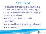 sipt project