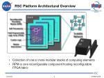 rsc platform architectural overview