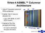 virtex 4 asmbl columnar architecture