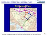 bosnia and herzegovina national plans