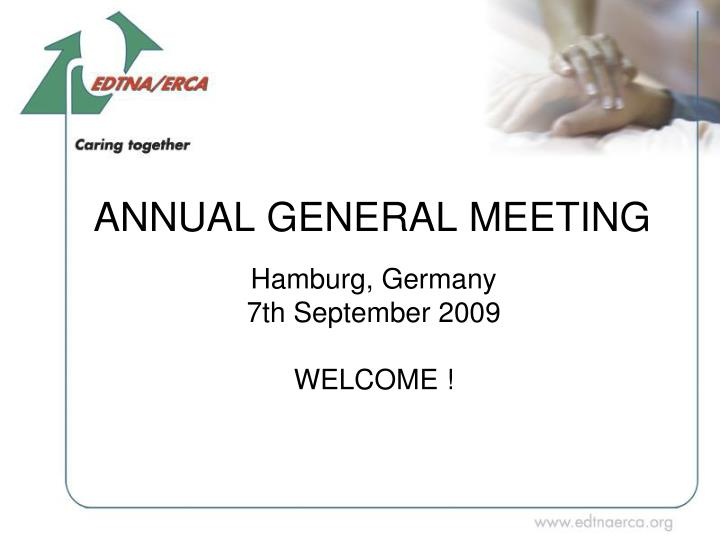 annual general meeting n.