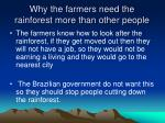 why the farmers need the rainforest more than other people1
