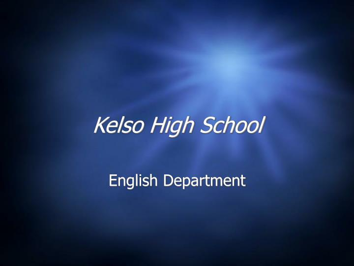 kelso high school n.