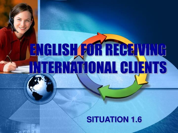 english for receiving international clients n.