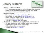 library features