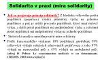 solidarita v praxi m ra solidarity
