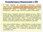 transformace financov n v r1
