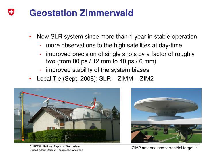 Geostation zimmerwald