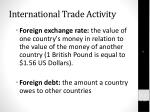 international trade activity1