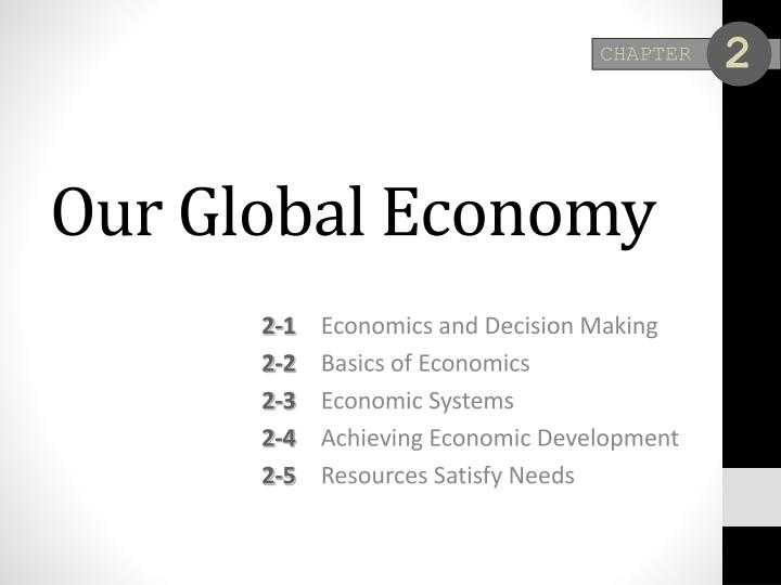 our global economy n.